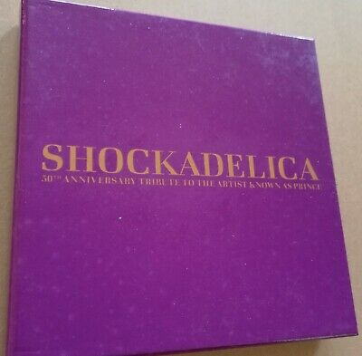Shockadelica : 50th Anniversary Tribute To The Artist Known As Prince 5CD • 42£