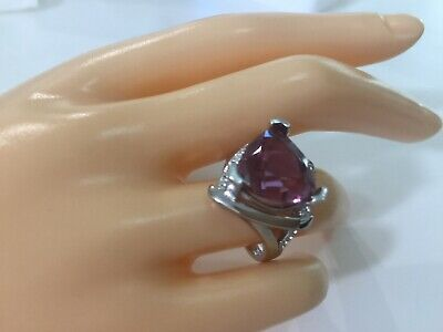 AU199 • Buy Certified Alexandrite 7.8Ct Ring, Solid 925 Sterling Silver Size 8 US Exclusive