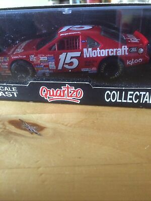 Quartzo 1/43 2021 Ford Thunderbird Motorcraft Morgan Shepherd Nascar Model MIB • 7£