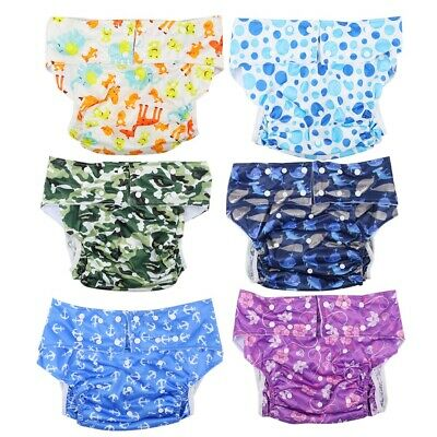 £10.18 • Buy Teen / Adult Washable Reusable Incontinence Aids Cloth Diaper Pants Nappy Briefs