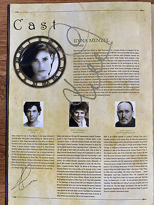 Wicked The Musical - Idina Menzel Signed Original London Programme • 35£