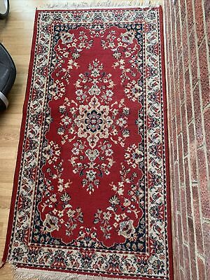 Traditional Turkish Style Rug / Mat Red • 25£