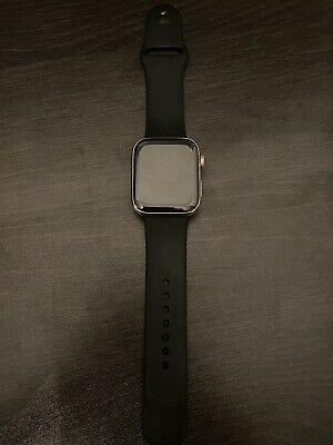 $ CDN381.90 • Buy Apple Watch Series 4 44 Mm Silver Stainless Steel GPS + Cellular