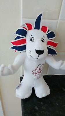 London 2012 Olympic Games Team Gb Pride The Lion Mascot Plush Soft Toy With Tag • 3.97£