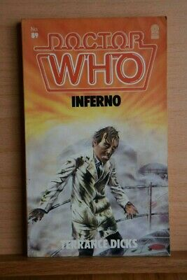 Doctor Who - Inferno By Terrance Dicks. Target Paperback 1984 • 2.90£