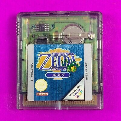 AU99.90 • Buy The Legend Of Zelda Oracle Of Ages - Gameboy Colour PAL *Cart Only*