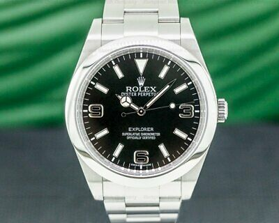 $ CDN10625.97 • Buy Rolex 214270 Explorer I 214270 39MM WITH BOX AND PAPERS!