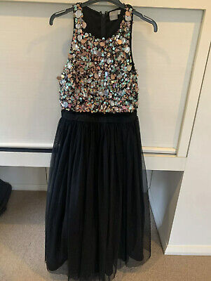 AU19 • Buy Asos Dress Sequins Tulle 12