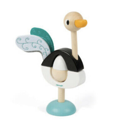 Janod Ostrich Stacker Wooden Toy • 17£