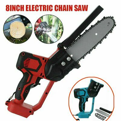 Electric Cordless Chainsaw Chain Saw Garden Cutting Tools For Makita Battery • 56.34£