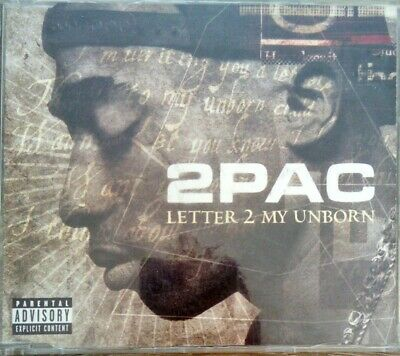 2Pac ‎– Letter 2 My Unborn - Four Track Enhanced CD Single • 0.97£