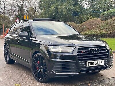 2018 Audi Sq7 4.0 Tdi Quattro 435 Ps Damaged Repaired Cat S/n/d Huge Spec May Px • 41,995£