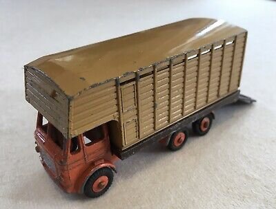 Budgie Toys Leyland Hippo Cattle Truck. Original Die Cast Early 1960's Vintage. • 6.95£