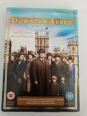 Downton Abbey: Complete 5th Series Dvd Maggie Smith (2014) NEW STILL SEALED  • 6£