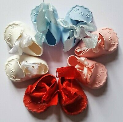 Vintage Cinderella Doll Moccasin Shoes / Booties Various Colours Size 3 • 5.50£