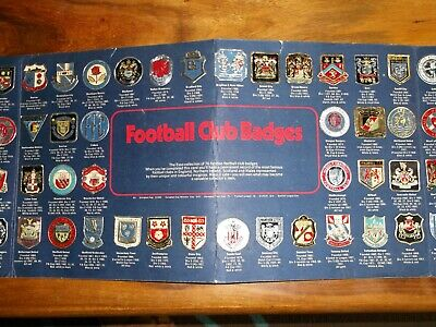 Esso Football Club Badges ( Complete Set Of 76 ) In Official Album 1971 • 24.99£