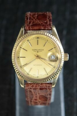 $ CDN4878.59 • Buy Longines Vintage Automatic Model Looks Like Rolex Datejust 36 MM 18K Yellow Gold