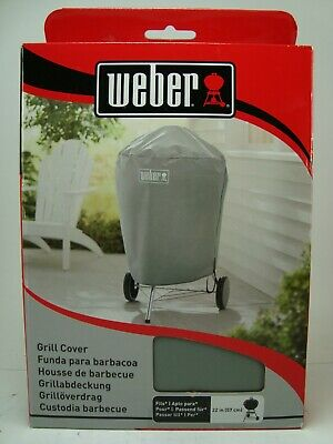 $ CDN43.80 • Buy Weber 7176 Gray Charcoal Kettle Grill Cover 22 Inch (57 Cm) New Sealed