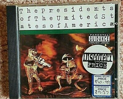 The Presidents Of The United States Of America Cd • 2.50£