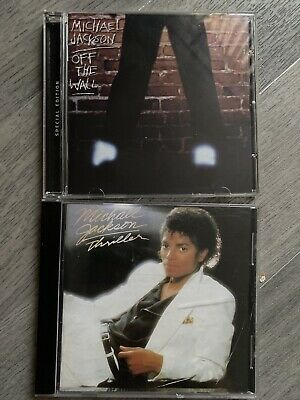Michael Jackson - Off The Wall & Thriller CDS • 2£