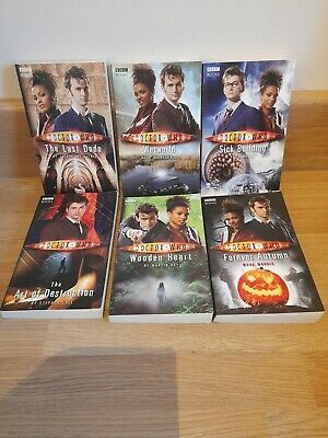 Bundle Of 6 Doctor Who Paperback Books ( David Tennant 10th Doctor ) BBC Books • 2.99£