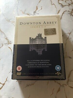 Downton Abbey - The Complete Series 1-4 Collection - NEW SEALED DVD SET Downtown • 15£