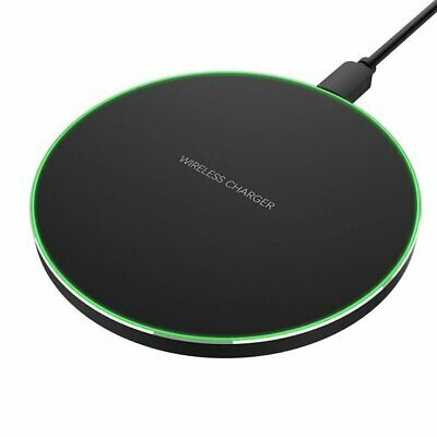 AU12.89 • Buy Qi Wireless Fast Charger Charging Pad Dock For IPhone Samsung Android Cell Phone