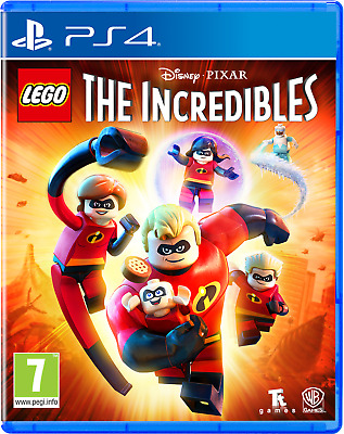 AU42 • Buy LEGO The Incredibles PS4 Playstation 4 Brand New Sealed