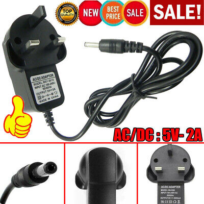 AU5.37 • Buy Universal AC/DC Volt Power Supply 3 Pin UK Plug Adapter Converter Charger 5V 2A