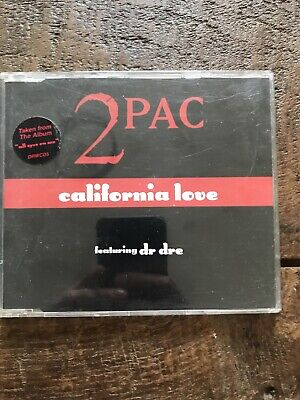 2 Pac Feat. Dr Dre -  California Love  UK 4-trk CD (1995) Vintage Rare • 5£