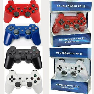 Bluetooth Dualshock3 Wired & Wireless Controller Joystick For PlayStation PS3 • 8.99£