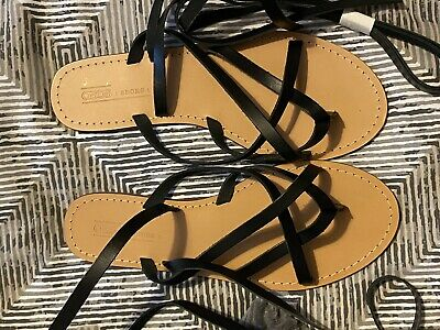 Womens Size 8 Leather Sandals Brand New • 7£