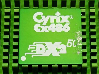 AU71.72 • Buy CPU Processor Cyrix CX486 DX2 50 Socket 168 Skt Ceramic Vintage PC Of 1993 Ok