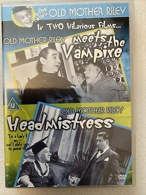 Old Mother Riley Meets The Vampire / Old Mother Riley Headmistress DVD New • 7.95£