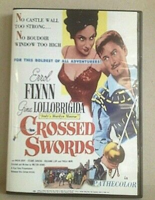 Crossed Swords Starring Errol Flynn • 3.99£