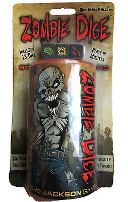 New Sealed ZOMBIE DICE Board Dice Game • 6.90£