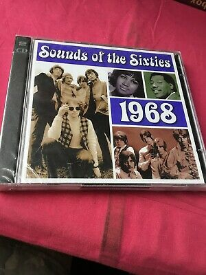 Time Life Double Cd Sounds Of The Sixties 1968 New & Sealed.  • 17.99£