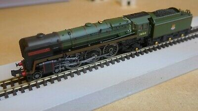 Dapol N Gauge ND-095B,Britannia Class, 70013 'Oliver Cromwell' Excellent Cond • 94£