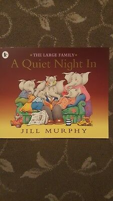 £3.79 • Buy The Large Family A Quiet Night In Book Kids