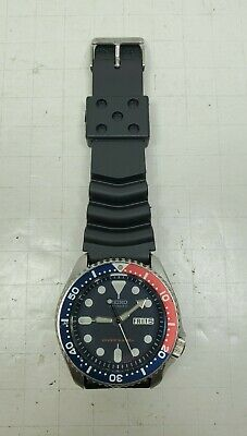 $ CDN294.97 • Buy Seiko SKX009 Diver Wrist Watch Pepsi 7s26-0020 Automatic