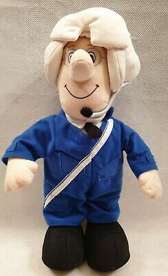 Postman Pat Special Delivery Service Helicopter Pilot Talking Plush Soft Toy 14  • 8.99£