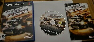 The Fast And The Furious Ps2 • 2£