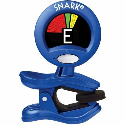$ CDN20.52 • Buy Snark Blue SN1X Clip-On Chromatic Acoustic Electric Bass Guitar Tuner