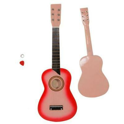 New 25  Acoustic Guitar  Pink W/ String For Children Kids • 12.81£