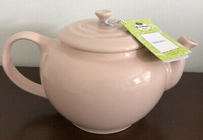 Brand New LE CREUSET Stoneware Light/baby Pink Teapot 1L • 28£
