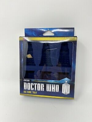 Doctor Who Silicone Ice Cube Tray Chocolate Jello Mold Tardis & Dalek • 5.58£