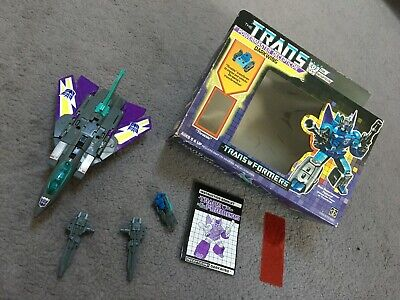 DARKWING Vintage G1 Transformers Powermaster Decepticon Boxed Hasbro 1988 • 53£