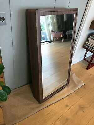 Bathroom Mirror Cabinet In Walnut 1100x600mm - Bespoke Design • 150£