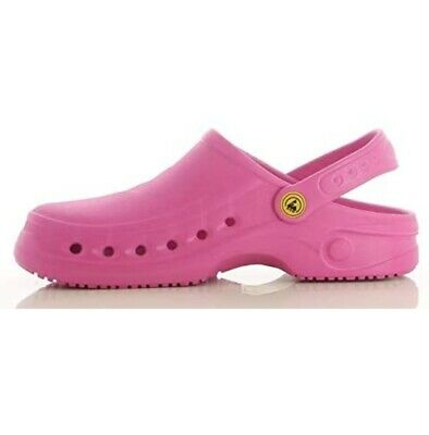 Oxypas Sonic Anti-slip, Medical Shoes, Anti-static Nursing Clogs, New • 29.99£