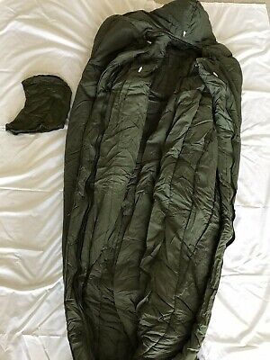 $299 • Buy Brand New Genuine Us Military Extreme Cold Weather Sleeping Bag Od Green Vintage